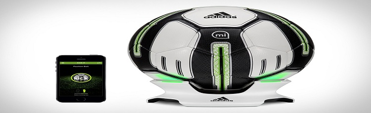 Smart World Cup Soccer Ball By Adidas
